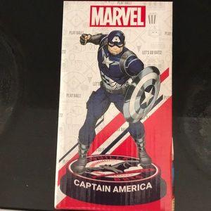 Marvel Captain America Louisville Bats Bobblehead